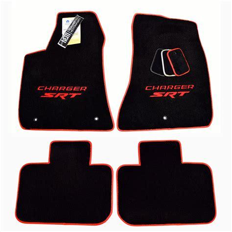 Dodge Charger Floor Mats Logo by Dodge Charger Srt Hellcat Floor Mats Trim Logos