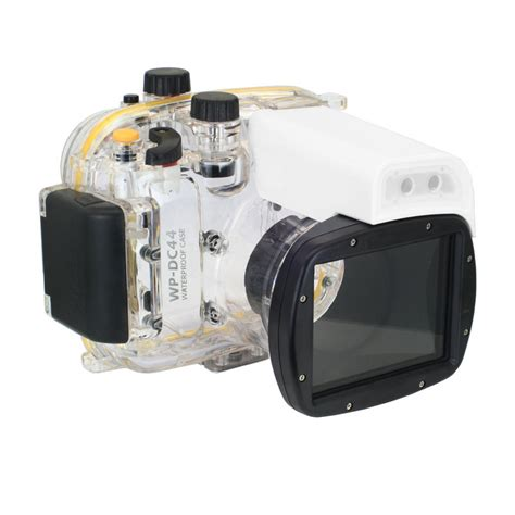 Meikon Waterproof For Nikon P7000 meikon 40m wp dc44 waterproof underwater housing 40m 130ft for canon g1x 18 as wp