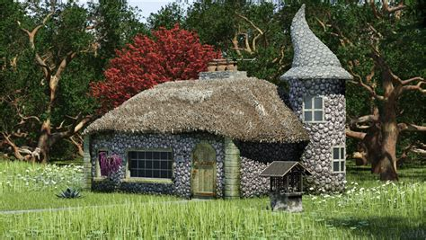 Small Cottage Home Plans by Witch Cottage