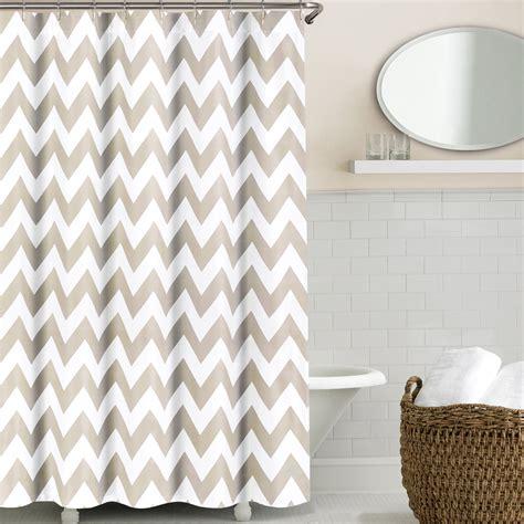 chevron shower curtain chevron shower curtains by echelon linenplace