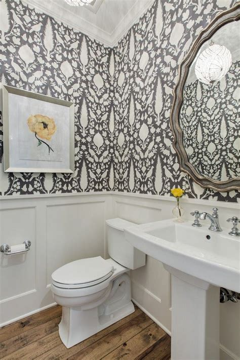 Best Wallpaper For Powder Room Best 25 Powder Room Wallpaper Ideas On Pinterest
