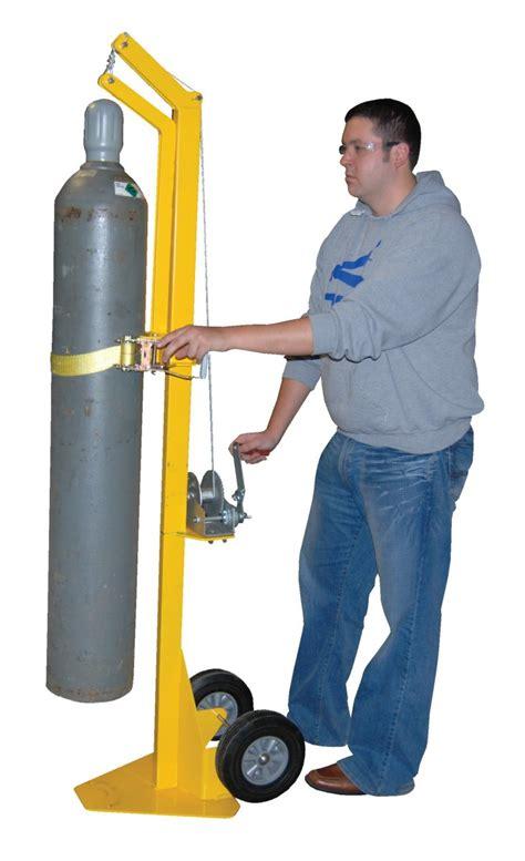 gas cylinder handling equipment gas cylinder storage