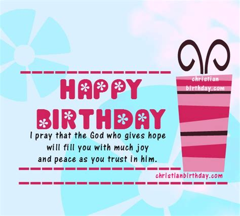 Bible Verses For Womens Birthday Cards