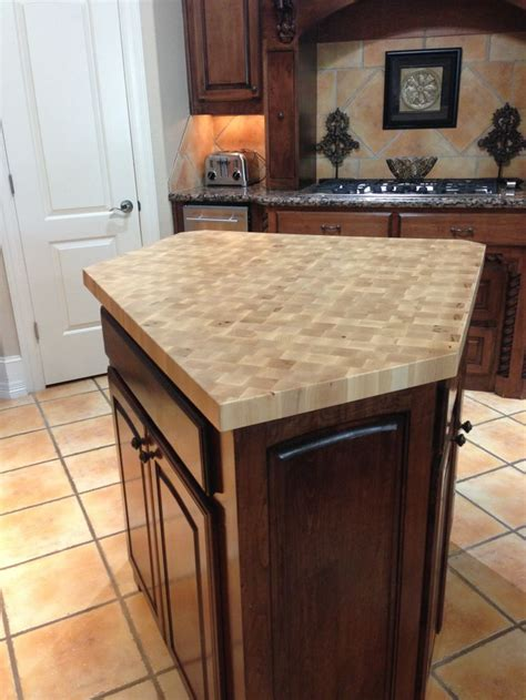 butcher block countertop island maple center island maple countertop maple end grain
