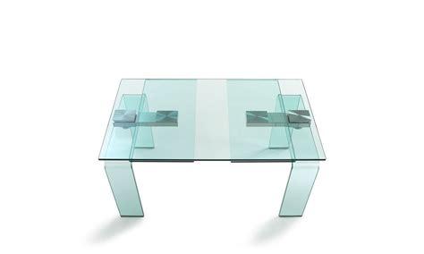 tavoli in cristallo allungabili cattelan cattelan italia tavoli allungabili azimut in cristallo