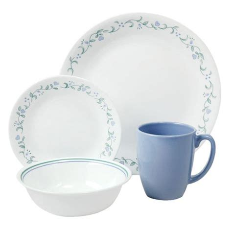 Corelle Dishes Country Cottage by Corelle Country Cottage 16 Dinnerware Set