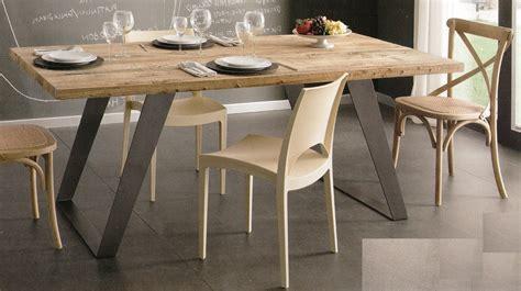 tavolo legno ferro tavoli tavolini d arredo tavolo legno massello ontano