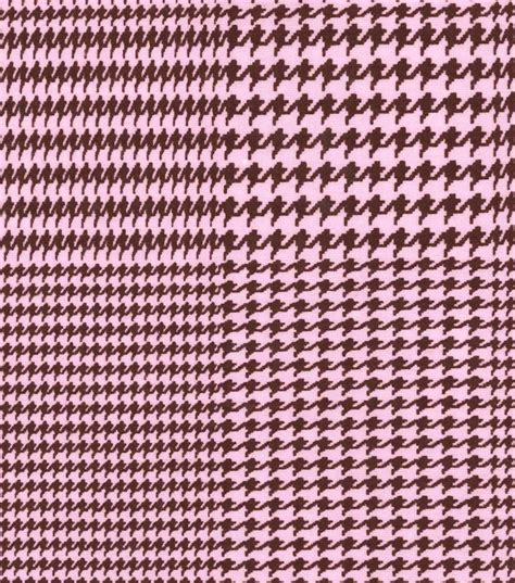 pink houndstooth pattern snuggle flannel fabric houndstooth pink jo ann