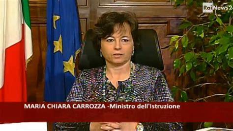 ministro istruzione carrozza il ministro carrozza al lavoro per il personale ata