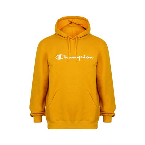Sleeve Hoodie Kingsman Gold Edition chion mens hooded sweatshirt large logo hoodie orange gold limited edition ebay