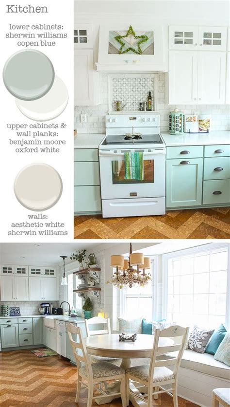 oxford white kitchen cabinets kitchen cabinets sherwin williams copen blue and