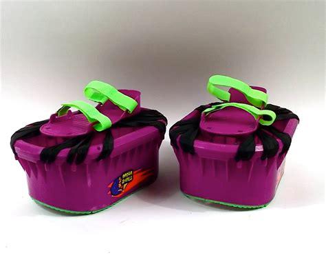 moon shoes 1989 troline boots amazing neon