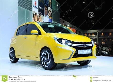 Thai Suzuki Bkk Nov 28 Suzuki A Wind Eco Concept Car On Display