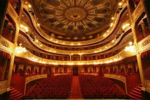 Theatre In File Municipal Theater Of Girona Interiors Jpg