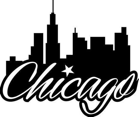 Chicago Skyline Colouring Pages Chicago Skyline Coloring Page