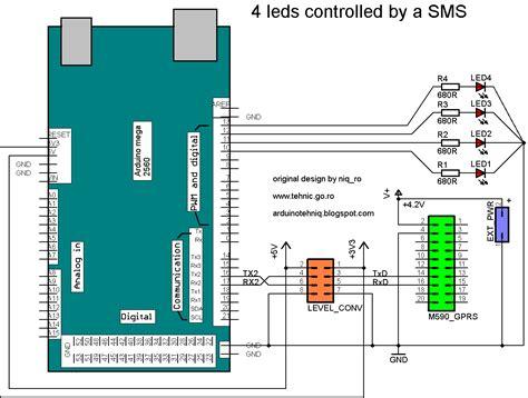tutorial arduino gprs arduino tehniq gprs module with m590 for sms projects