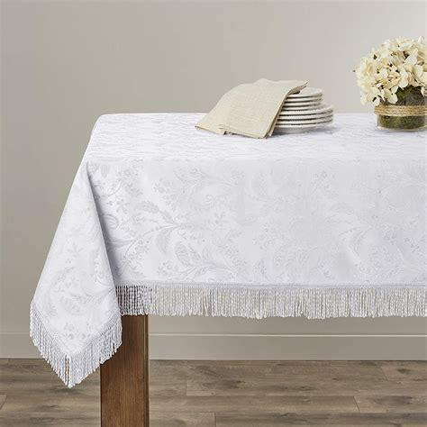 luxury damask tablecloths