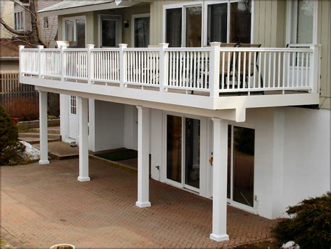 Trex Decking Ideas by Lake Hopatcong Nj Ipe Decks With Cedar Colonial
