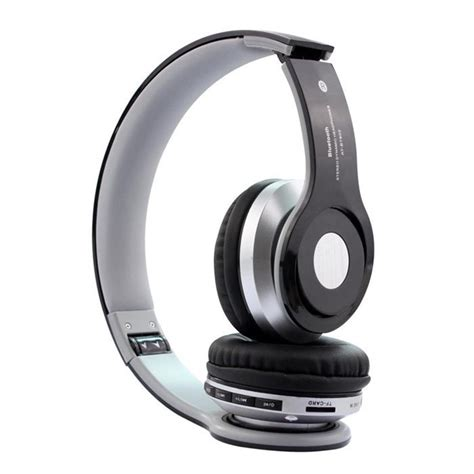 Headset Mp3 Samsung bluetooth earphone stereo headset combo wireless headphone at bt802 with mp3 player and fm radio
