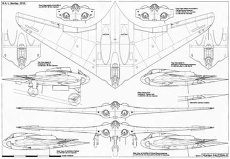 Drawing Plans a l bentley drawings horten ho229 a 0