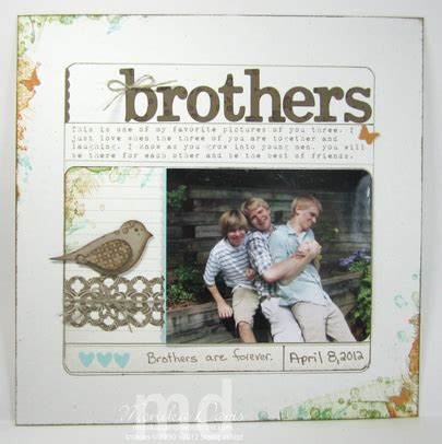 lg s scrapbook world my 2nd double page layout almost artisan brothers scrapbook page sting