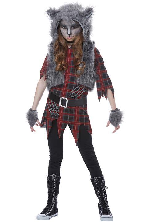 werewolf girl child costume purecostumescom