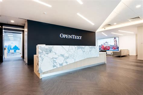 Interior Design Firms Chicago by Inside Opentext S New Office In Reading Officelovin