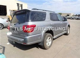 2004 toyota sequoia parts parting out 2004 toyota sequoia stock 5117gy tls