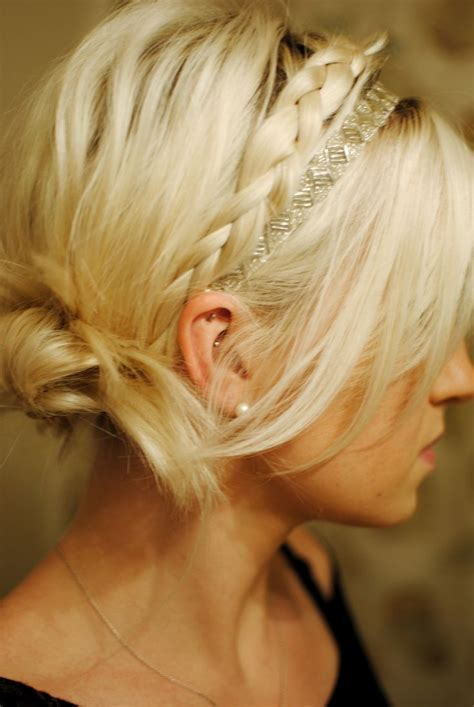 black tie hair updos 160 best images about headband hairstyles tutorials on