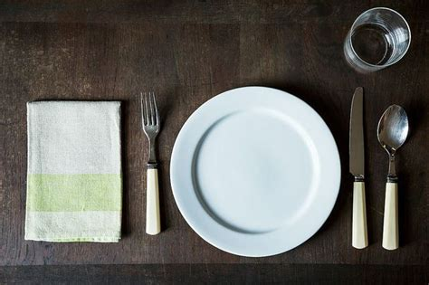 basic table setting how to set a table