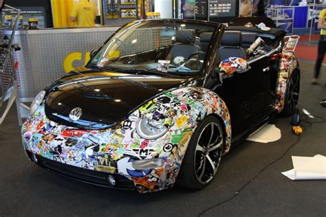 Auto Sticker Bomb by Sticker Bomb And The Geeky Art Of Cartoon Car Wrapping