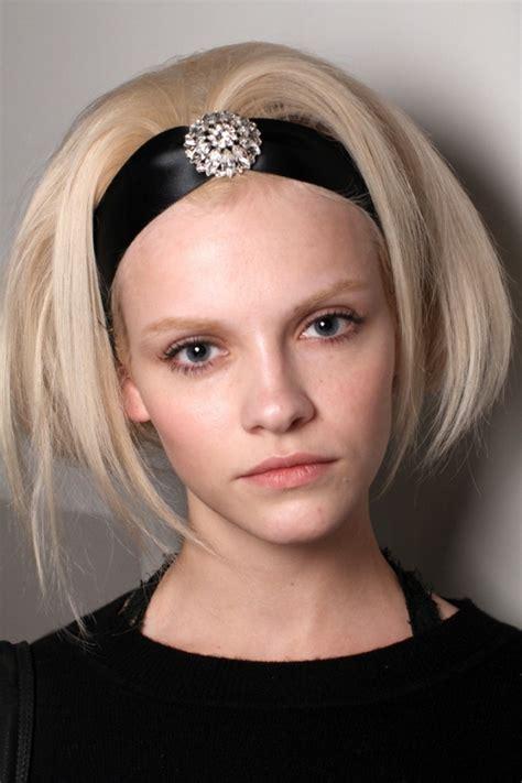 headbands trends fall 2012 runway hair accessory trends