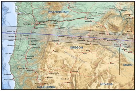 map of oregon total eclipse oregon eclipsophile