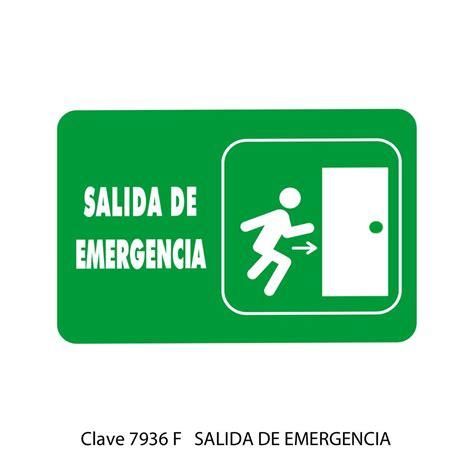 placas de salida de emergencia en mexico placas de salida de emergencia en mexico se 241 ales de