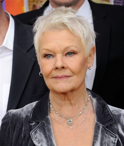 judy dench hairstyle front and back of head judy dench hairstyle front and back judy dench hairstyle