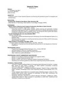 Sle Resume No College Education Sle College Student Resume No 28 Images No Experience Resume Sles Registered Resume Resume