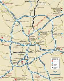 Atlanta Area Map by Atlanta Area Map