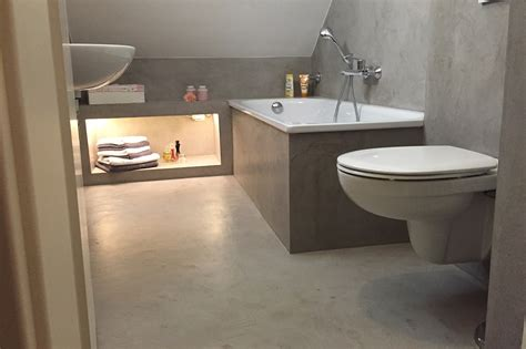 Beton Cire Bad by Beton Cir 233 Bochum
