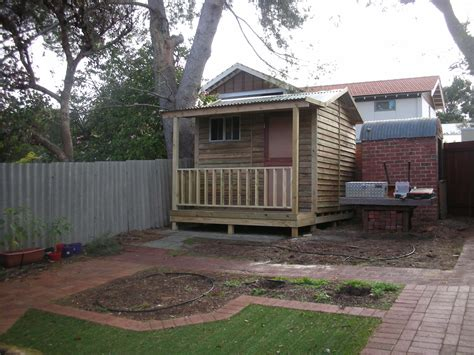The Shed Malaga by Shed 2 8m X 3 0m With Veranda For Your Backyard