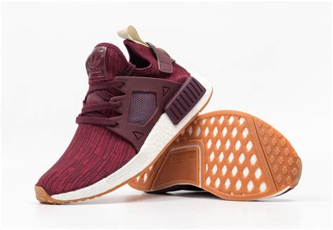 Adidas Nmd Maroon Bergundy adidas nmd xr1 primeknit maroon gum bb2368 sneaker bar detroit