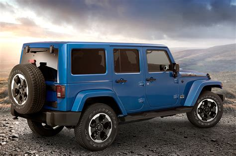 jeep polar edition 2014 jeep wrangler polar edition hits north america