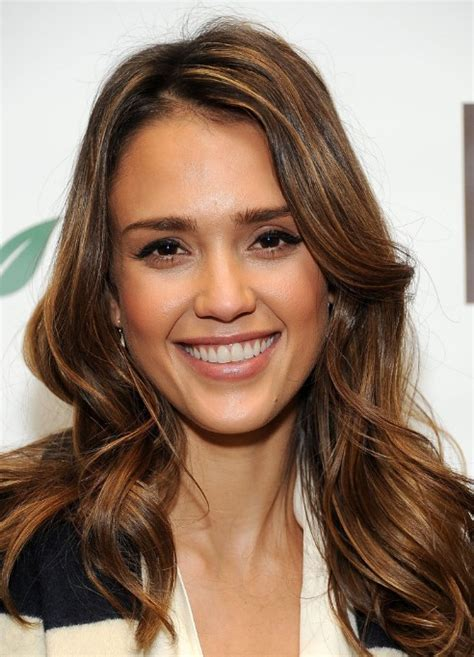 jessica alba long hairstyles with waves hairstyles weekly
