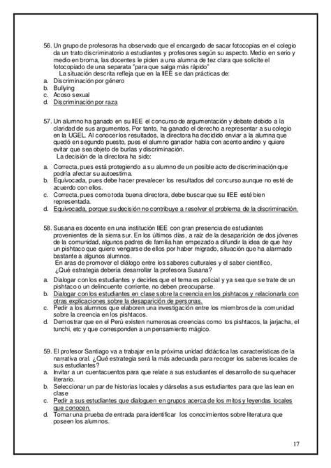 contrato de maestras 2016 examen de contrato docente ebr primaria 2014