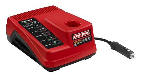 craftsman battery charger 19 2 craftsman 19 2 volt dual chemistry car charger tools