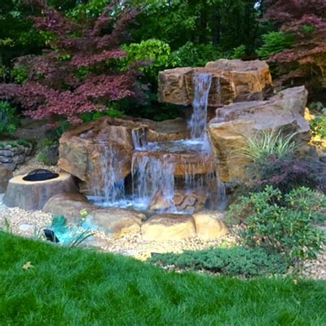 outdoor water features backyard water features pond waterfalls swimming pool
