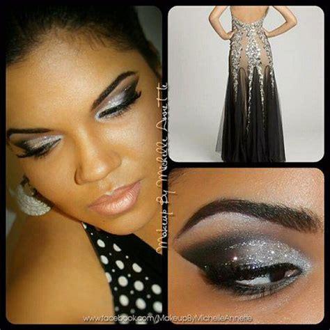 black prom dress makeup camille la vie silver black prom dress inspired makeup