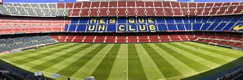 c nou horario y precio de la visita al estadio del barcelona