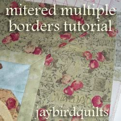 mitered corners books mitered borders tutorial quilting basics