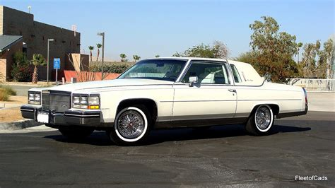 1985 cadillac coupe 1985 cadillac fleetwood brougham coupe 43k