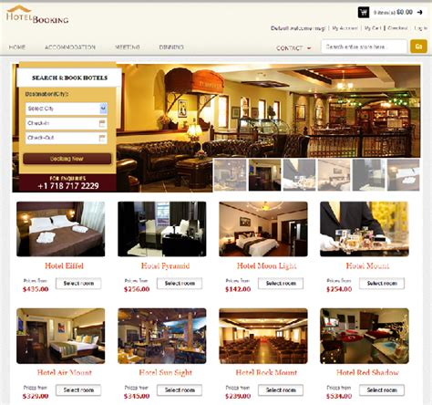 theme hotel online hotel booking magento theme with reservation
